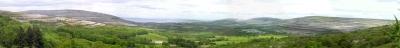 Panorama of Ireland
