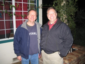 Mark Strauss and Ed Hale